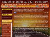 urgentmineandrailfreight.com.au