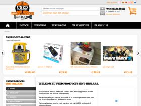 usedproductssint-niklaas.be