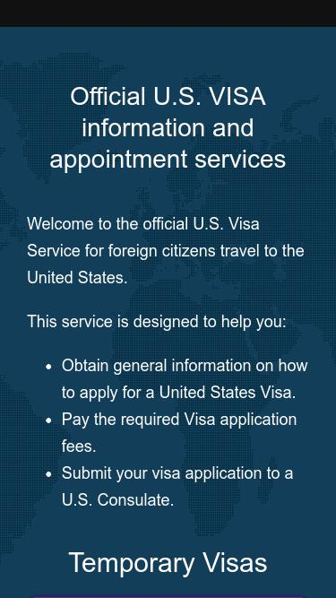 Us visa appointment mexico