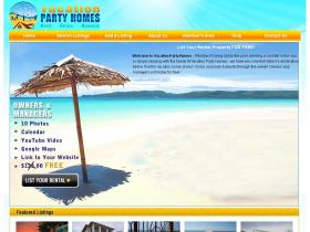vacationpartyhomes.com