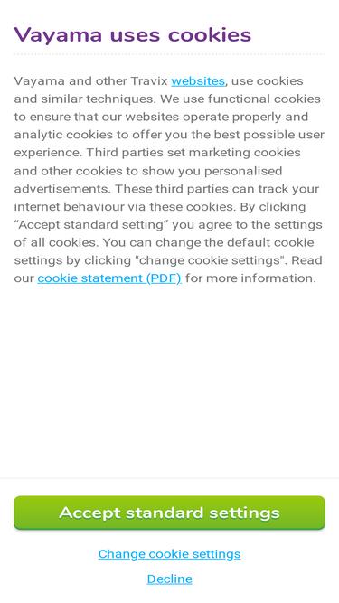 Vayama ie Analytics - Market Share Stats & Traffic Ranking