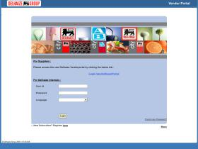 vendorportal.delhaize.be