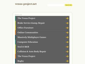 venus-project.net