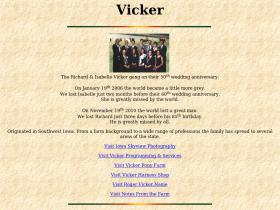 vicker.com Analytics Stats