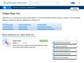 video-fixer-inc.software.informer.com