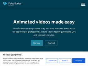 Videoscribe co Analytics - Market Share Stats & Traffic Ranking