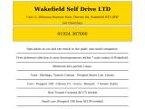 wakefieldselfdrive.co.uk