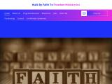 walkbyfaithtofreedomministry.com