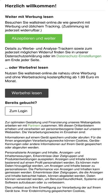 Wallstreet Online. De