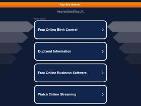 warmbodies.it