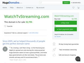 watchtvstreaming.com
