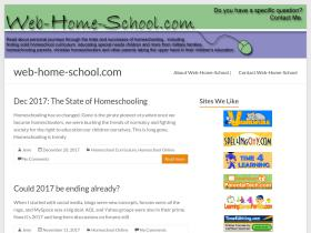 web-home-school.com