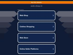 web-shop.lv