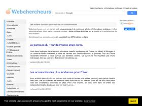 webchercheurs.com
