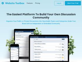Websitetoolbox com Analytics - Market Share Stats & Traffic Ranking