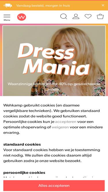 7c0aa46105e17f Wehkamp.nl Analytics - Market Share Stats & Traffic Ranking