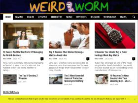 weirdworm.com