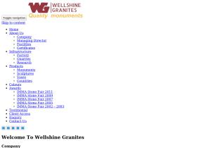 wellshinegranites.com
