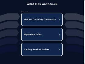 what-kids-want.co.uk