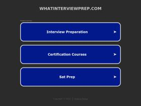 whatinterviewprep.com