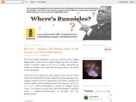 wheresrunnicles.com
