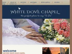 whitedoveweddingchapel.com