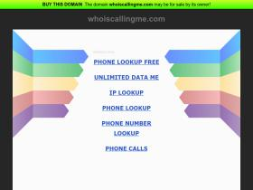 whoiscallingme.com