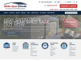 widespansheds.com.au