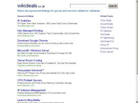 wikideals.co.uk