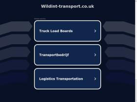 wildint-transport.co.uk