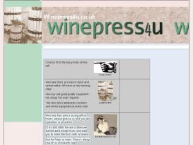 winepress4u.co.uk