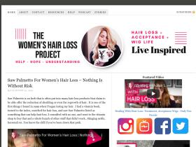 womenshairlossproject.com