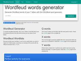 wordfeudwords.com