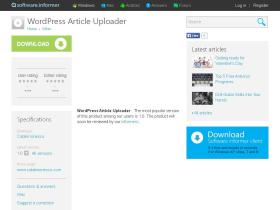 wordpress-article-uploader.software.informer.com