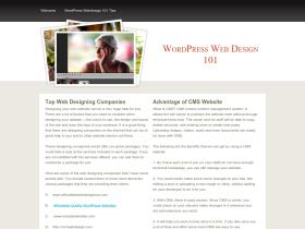 wordpresswebdesign101.weebly.com