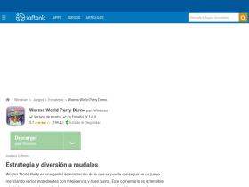 worms-world-party-demo.softonic.com