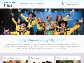 wyndhampartyweekends.com