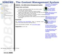 xdbcms.sourceforge.net