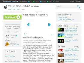 xilisoft-wmv-mp4-converter.software.informer.com
