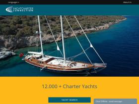 yachtcharter-connection.com