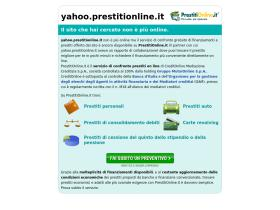 yahoo.prestitionline.it
