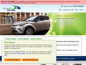 yarmouthcarhire.co.uk