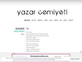 yazarcemiyeti.wordpress.com