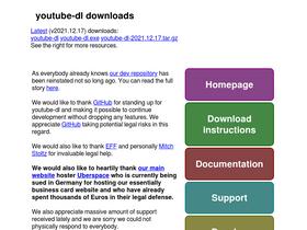 Youtube-dl org Analytics - Market Share Stats & Traffic Ranking