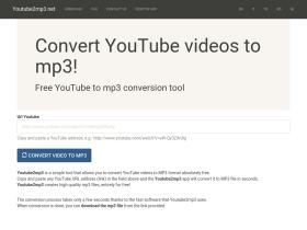 youtube2mp3.net