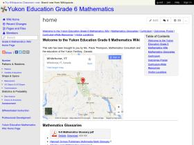 yukon-education-math-grade-6.wikispaces.com