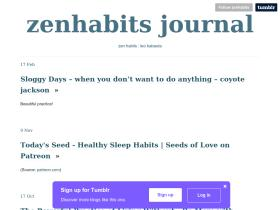 zenhabits.tumblr.com