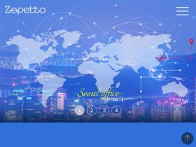 Zepetto com Analytics - Market Share Stats & Traffic Ranking
