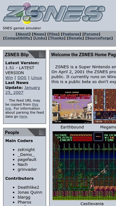 Zsnes com Analytics - Market Share Stats & Traffic Ranking
