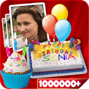 Name On Birthday Cake Photo Birthday Cake App Ranking And Market